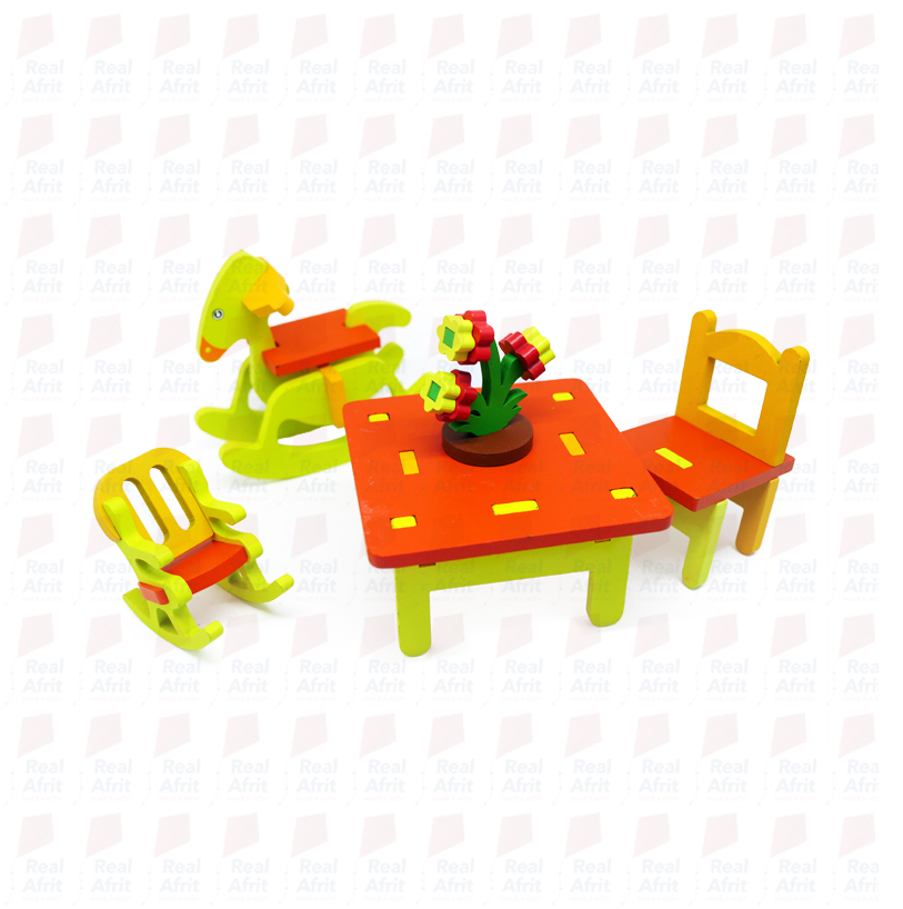 3D furniture Assemble - Kindergarten