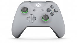 Xbox One Grey/Green Wireless Controller