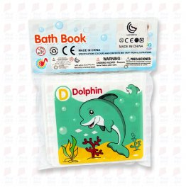Bath book - animal