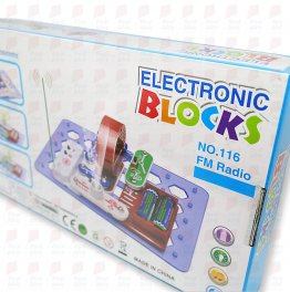 Electronic blocks No.116 radio